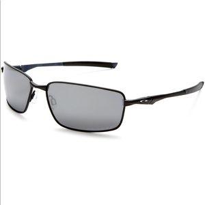 NEW Mens Oakley Splinter Matte Black Sunglasses